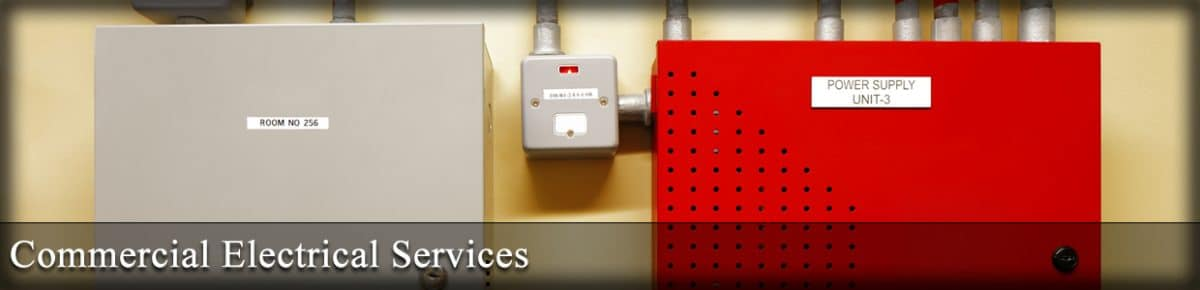 Commercial Electrical Services banner