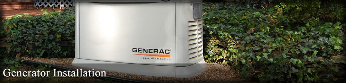 Generator Installation banner