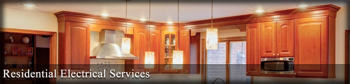 Residential electrical services banner